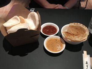 Prawn Crackers and Roti - Saboteur