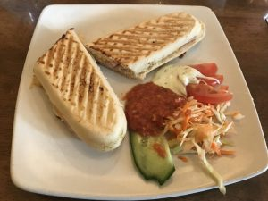 Ham Panini - Cafe Truva