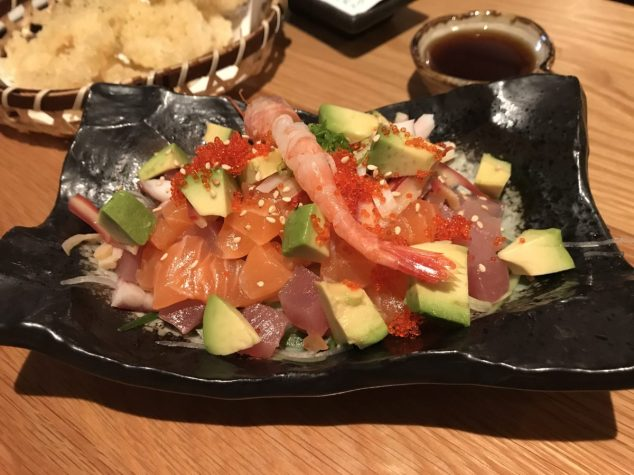 Assorted Sashimi Salad - Kanpai