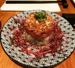 Crowned Tuna Tartare - Kanpai
