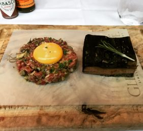 Steak Tartare - Ivy on the Square