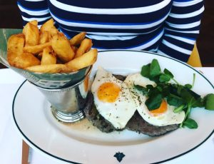 Steak, Egg and Chips - Ivy on the Square