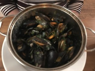 Mussels - Cafe Tartine