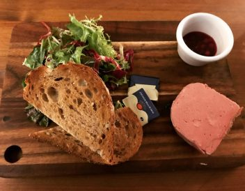 Chicken Liver Parfait - Cafe Tartine