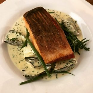 Salmon - Cafe Tartine