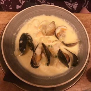 Seafood Chowder - Monteiths