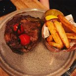 Steak and Chips - Monteiths