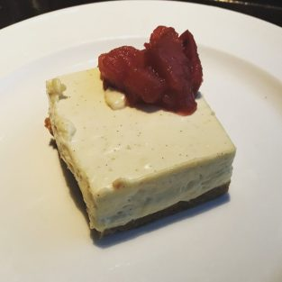Vanilla Cheesecake - Le Monde