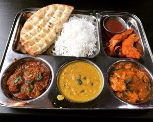 Non-vegetarian thali - Roti