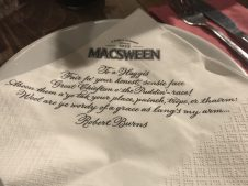 Burns Napkin - Beer Kitchen