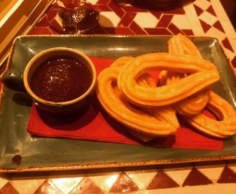 Churros - Cafe Andaluz
