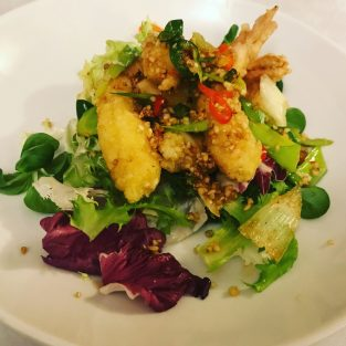 Salt and Pepper King Prawns - Golden Dragon
