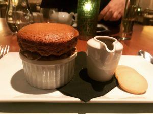 Sticky Toffee Souffle - Michael Neave