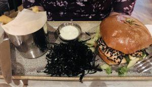 Salmon Burger - Herringbone