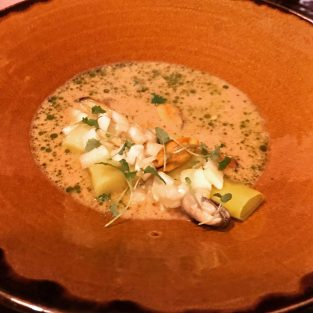Langoustine Bisque - Forage and Chatter