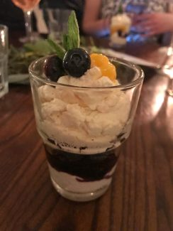 Lemon and blueberry fool - The Pantry