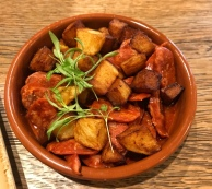 Potato, Chorizo and Cider - Harry's Bar