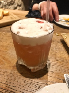 Raspberry and Amaretto Sour - Harry's Bar