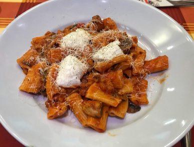 Rigatoni Norcina - Ciao Roma