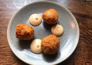 Prawn rice balls - Carnivore