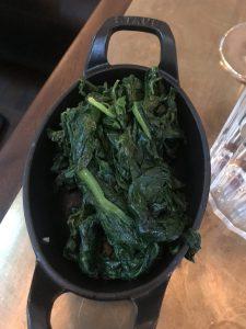 Spinach - Hawksmoor