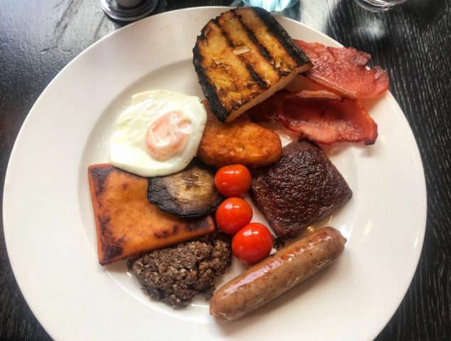 Scottish Breakfast - Grand Cafe
