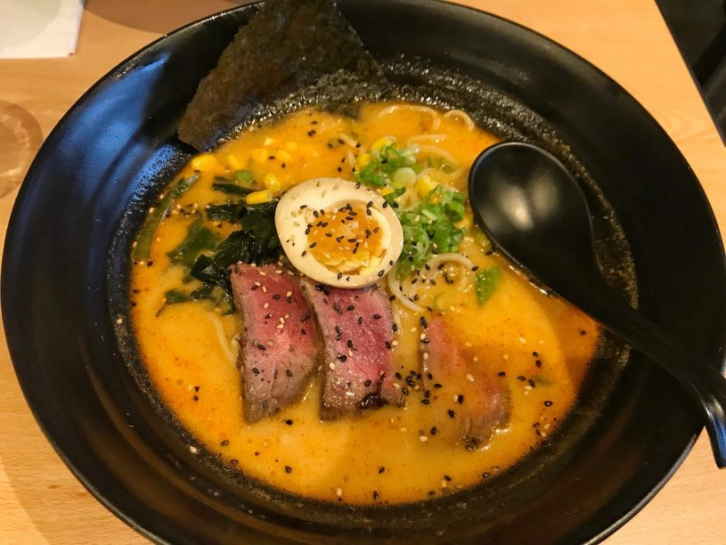 Beef Tataki Ramen - Maki and Ramen