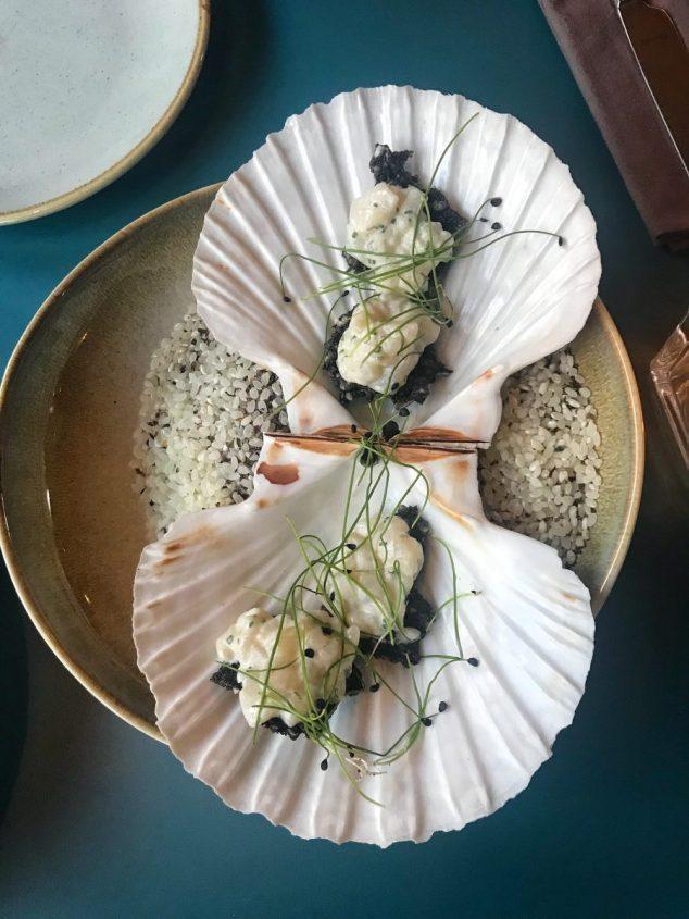 Scallop Ceviche - Sonder