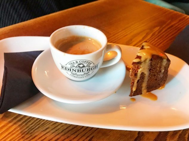 Espresso and cake - Barologist