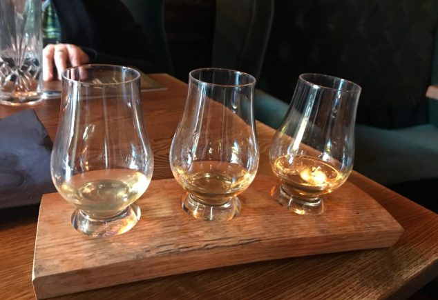 Whisky flight - Barologist