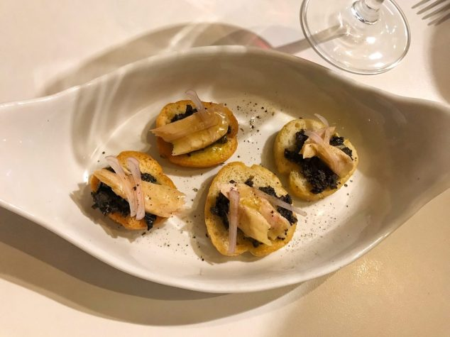 Tuna Crostini - Merienda
