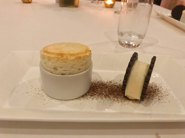 Vanilla Soufflé and Ice Cream Sandwich - Number One