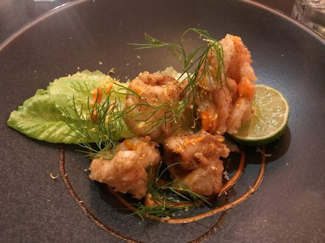Crispy fried squid - LeftField