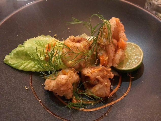 Crispy fried squid - LeftField