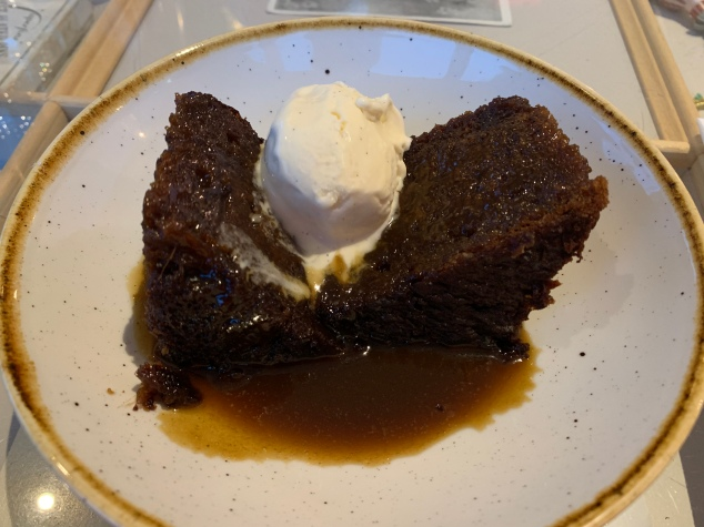 Sticky Toffee Pudding - Restoration Yard