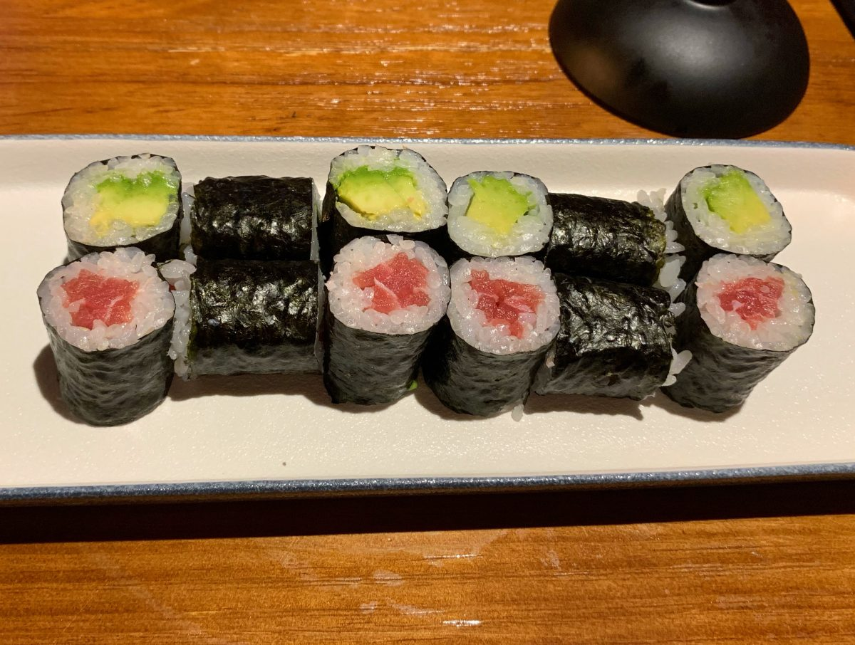 Tuna Maki and Avocado Maki - Umi